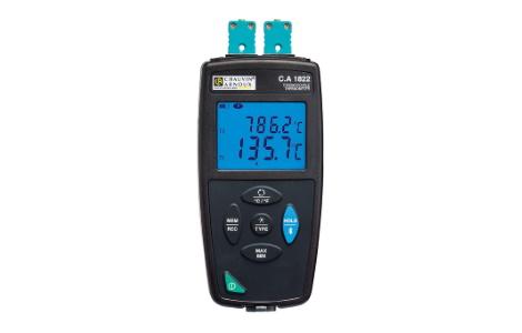 Контактный термометр регистратор C.A 1822 | Chauvin Arnoux