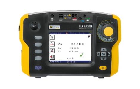 Измеритель параметров электроустановок C.A 6116N | Chauvin Arnoux