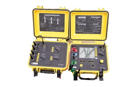 Тестер заземления и удельного сопротивления и адаптер для измерения заземления на опорах ЛЭП C.A 6474 | Chauvin Arnoux