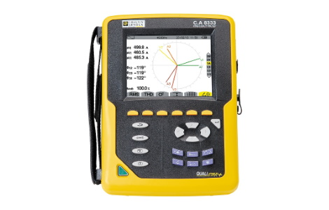 Анализатор качества электроэнергии для трехфазных электросетей C.A 8333 | Chauvin Arnoux