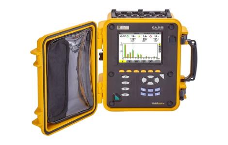 Анализатор качества электроэнергии для трехфазных электросетей C.A 8436 | Chauvin Arnoux