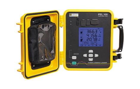 Регистратор мощности и энергии C.A PEL105 | Chauvin Arnoux