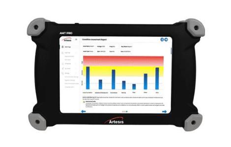 Прибор для тестирования вращающегося электрооборудования без использования датчиков AMT Pro | Artesis